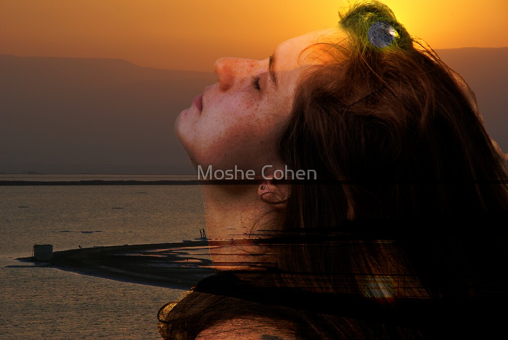 Welcoming the new day by Moshe Cohen