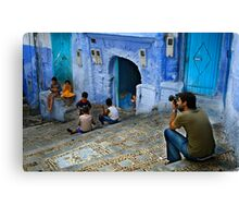 Children of Chaouen Canvas Print