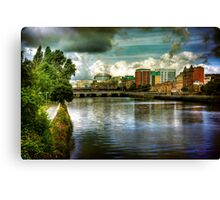 Clyde View (3) Canvas Print