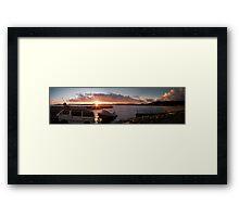 Lowry Boat Ramp Framed Print