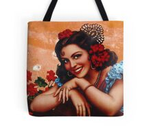 Bullet holes Mexican style Tote Bag