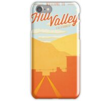 Back to the Future - Welcome To Hill Valley  iPhone Case/Skin