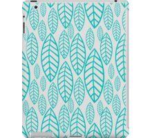 Vector leaf seamless pattern iPad Case/Skin