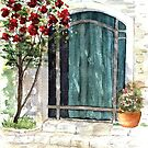 Italian Door by LinFrye