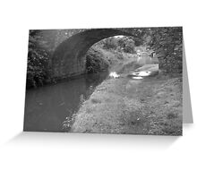 Follow the flow.. Greeting Card