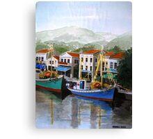 Mitilini Greek island Canvas Print