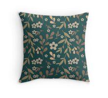 Flowers pattern Throw Pillow