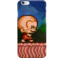Bonk / BC Kid retro painted pixel art iPhone Case/Skin