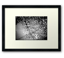 Where Is The Water? (A Poem) Framed Print