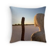 Into The Future... Throw Pillow
