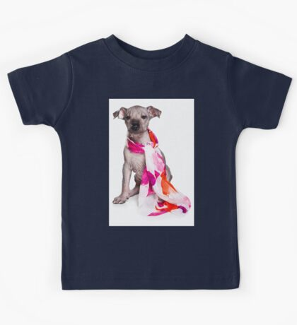Hairless Dog puppy Kids Tee