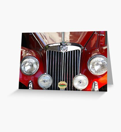 Grille Power (Just Like The Spice Girls Said!) Greeting Card