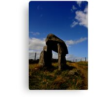 Legananny the pillar stone of Anya Canvas Print
