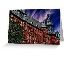 Romrod Castle Germany Fine Art Print Greeting Card