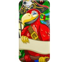 Adventure Time - Boatswain Corsair Red Parrot iPhone Case/Skin