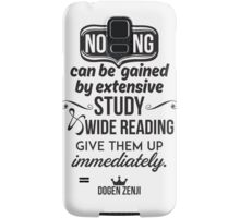 Nothing Can be Gained Samsung Galaxy Case/Skin