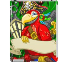 Adventure Time - Boatswain Corsair Red Parrot iPad Case/Skin