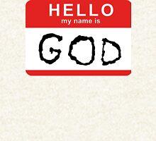 Hello my name is GOD (Die Antwoord - Ugly Boy) Hoodie