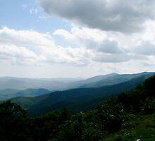 Blue Ridge Mountains by Trine Wilson