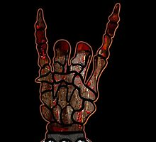 HEAVY METAL HAND SIGN - if you want blood, you got it by sleepingmurder