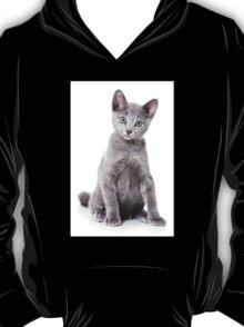 silver kitten T-Shirt