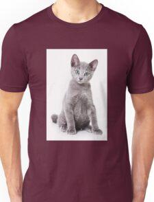 silver kitten Unisex T-Shirt