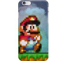 Super Mario retro painted pixel art iPhone Case/Skin