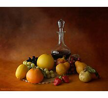 THE CRYSTAL DECANTER Photographic Print
