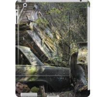 16.5.2015: Scrap Cars and Abandoned House iPad Case/Skin