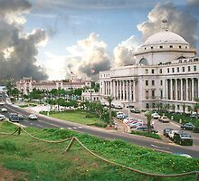 Puerto Rico, capital view by Jerry Clitty