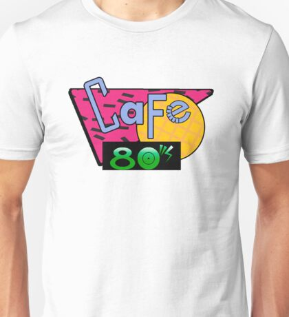 Unique Cafe 80s Unisex T-shirt