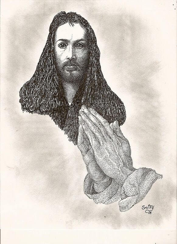 ALBRECHT DURER AND HANDS by smitty01
