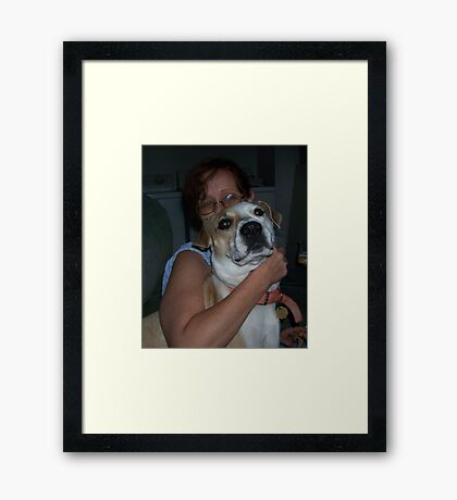 jerzy and i  Framed Print