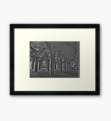 Inside Vakil Mosque - Shiraz - IRAN Framed Print