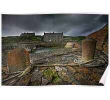 Keiss Harbour, Caithness, Scotland Poster