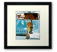 Taxi Driver - Shiraz - Iran Framed Print