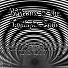 Welcome to the Twilight Zone by Greeting Cards by Tracy DeVore