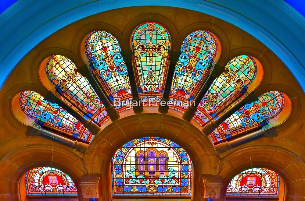 Queen Victoria Building - SYDNEY by Bryan Freeman