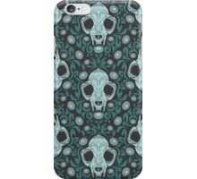 Damascats - Teal iPhone Case/Skin