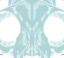 Damascats - Teal Sticker