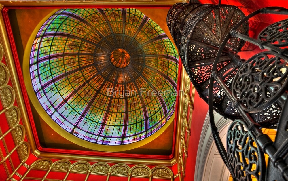 The Dome - Queen Victoria Building - SYDNEY by Bryan Freeman