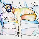 SLEEPING BEAUTY by Pat Saunders-White