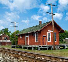 Train Depot - Madison, Ohio by Bob  Perkoski