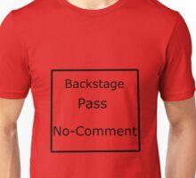 Backstage Pass Unisex T-Shirt