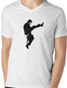 The Funny Walk Ministry Mens V-Neck T-Shirt