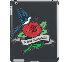 Rockabilly Red Hot Retro Tattoo  iPad Case/Skin