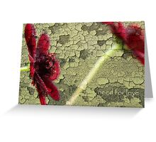 need for love Greeting Card