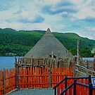 Loch Tay Crannog by Tom Gomez
