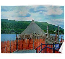 Loch Tay Crannog Poster
