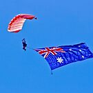 Flag Under Canopy - SYDNEY - AUSTRALIA by Bryan Freeman